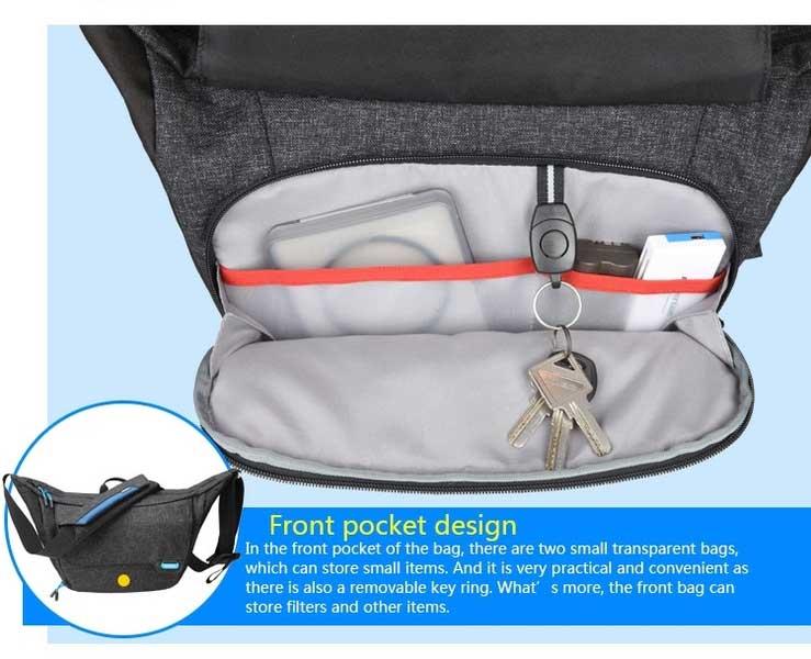Jual Benro Traveler S100 Shoulder Bag Hitam Surabaya Jakarta