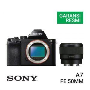 Jual-Kamera-Sony-A7-Kit-FE-50mm-Harga-Murah