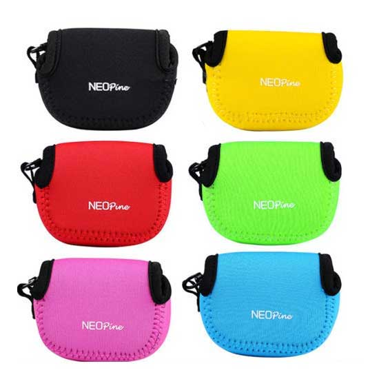 Jual NeoPine Mini Soft Case for GoPro GP195 Hijau toko kamera online