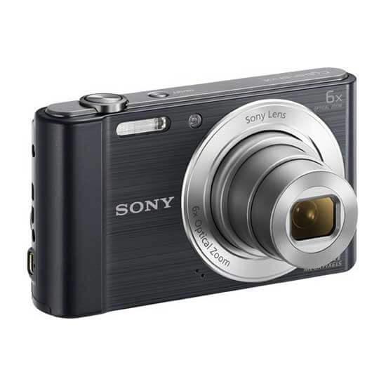 Kamera Sony DSC-W810 Cyber-shot Hitam Harga Murah Terbaik - Spesifikasi