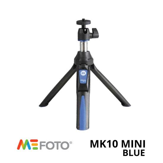 jual MeFoto MK10 Mini Tripod Biru