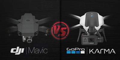 Perbandingan Drone DJI Mavic Pro VS GoPro Karma