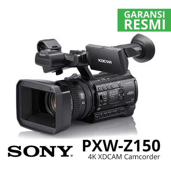 jual Sony PXW-Z150 4K XDCAM Camcorder