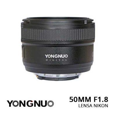 jual YongNuo Lensa Nikon 50mm F1.8