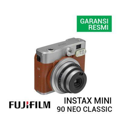 jual kamera Fujifilm 90 Neo Classic Instax Mini Brown harga murah surabaya jakarta