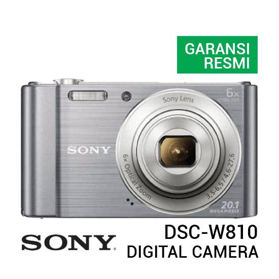 jual kamera Sony DSC-W810 Cyber-shot Silver harga murah surabaya jakarta