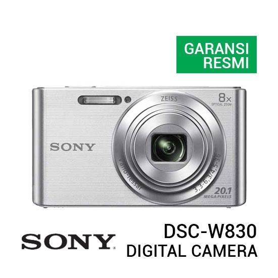 jual kamera Sony DSC W830 Digital Camera Silver harga murah surabaya jakarta