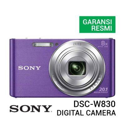 jual kamera Sony DSC W830 Digital Camera Violet harga murah surabaya jakarta