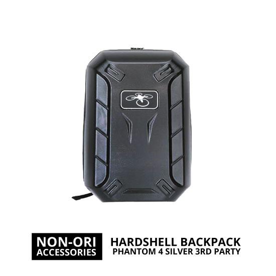 jual DJI Phantom 4 Hardshell Backpack Silver 3RD Party