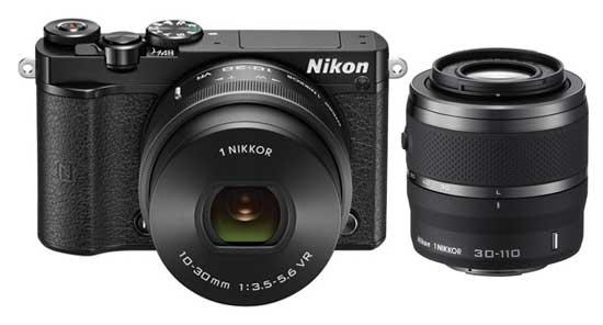 Jual Nikon 1 J5 Double Kit Black toko kamera online