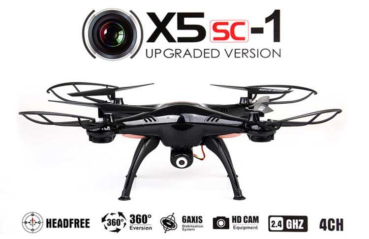 Jual Syma X5SC-1 RC Quadcopter Black Toko Kamera Online