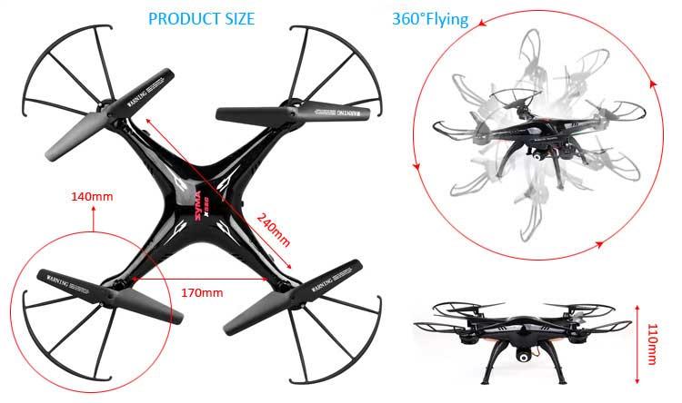 Jual Syma X5SC-1 RC Quadcopter Red toko kamera online