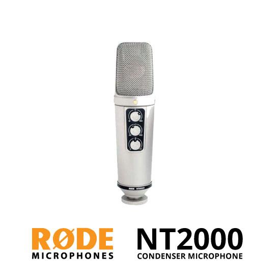 jual Rode NT2000 Condenser Microphone