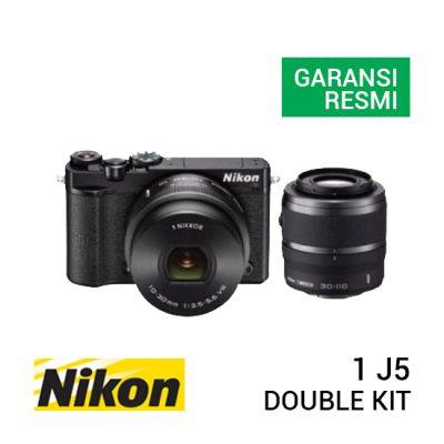 jual kamera Nikon 1 J5 Double Kit Black harga murah surabaya jakarta