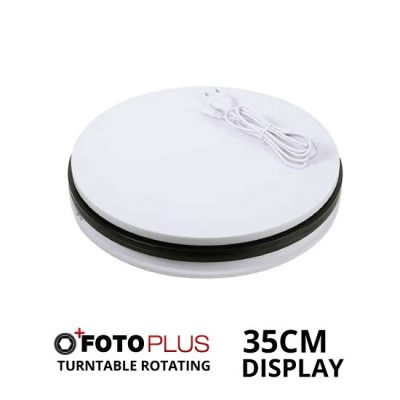 Jual Fotoplus Turntable Rotating Display 35cm