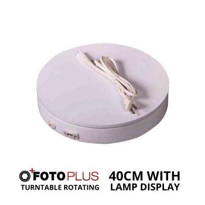 Jual Fotoplus Turntable Rotating Display 40cm with Lamp