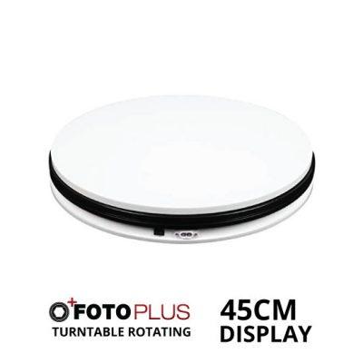 Jual Fotoplus Turntable Rotating Display 45cm