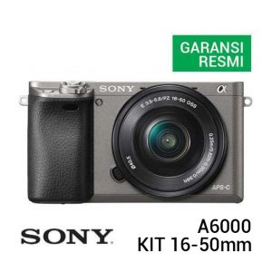 Sony A6000 Kit 16-50mm Graphite