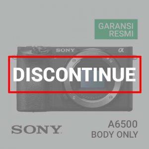 Jual Digital Kamera Mirrorless Sony A6500 Body Only harga murah