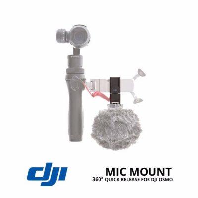 jual DJI Osmo Quick Release 360° Mic Mount