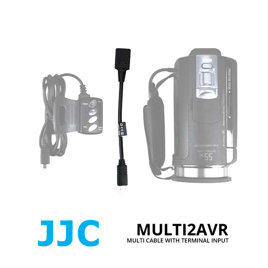 jual JJC CABLE-MULTI2AVR Handycam camcorders with Multi Terminal Input