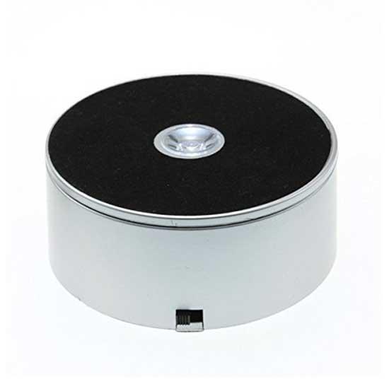 Jual Fotoplus Turntable Rotating Display 10cm with Lamp