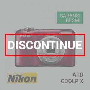 jual kamera Nikon Coolpix A10 Red harga murah surabaya jakarta