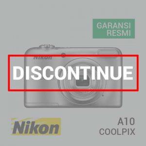 jual kamera Nikon Coolpix A10 Silver harga murah surabaya jakarta