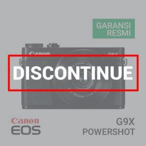 jual kamera Canon PowerShot G9 X Black harga murah surabaya jakarta