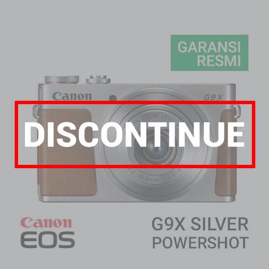 jual kamera Canon PowerShot G9 X Silver harga murah surabaya jakarta
