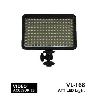 jual ATT LED Light VL-168 + Battery + Charger