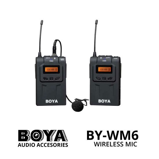 jual Boya Wireless Microphone BY-WM6