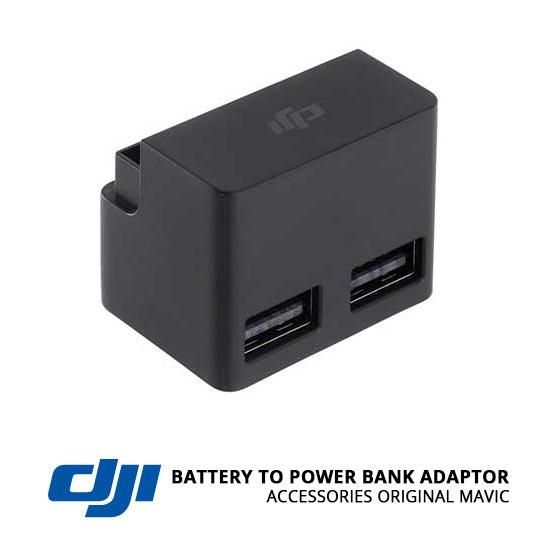 jual DJI Mavic Battery to Power Bank Adaptor