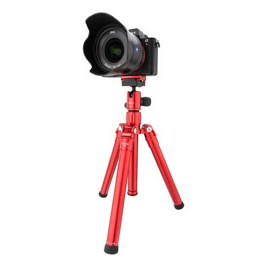 Jual MeFOTO RoadTrip Air Travel Tripod Red