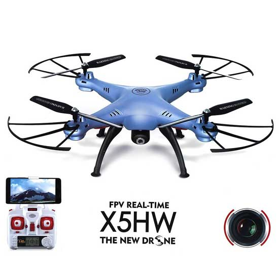 Jual Syma X5HW RC Quadcopter Blue