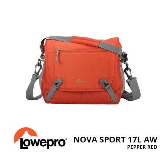 jual Lowepro Nova Sport 17L AW Pepper Red