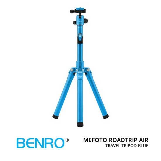jual MeFOTO RoadTrip Air Travel Tripod Blue