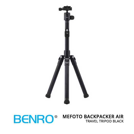 jual MeFOTO BackPacker Air Travel Tripod Black