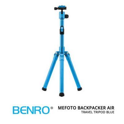 jual MeFOTO BackPacker Air Travel Tripod Blue