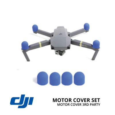 jual DJI Mavic Motor Cover Set Blue 3rd Party