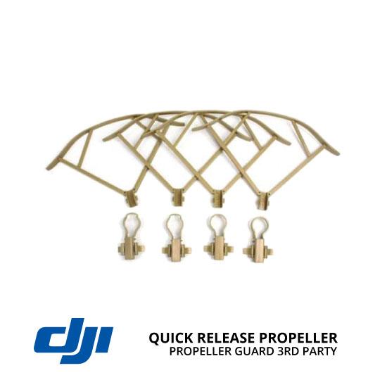 jual DJI Mavic Quick Release Propeller Guard Gold 3rd Party