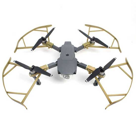 Jual DJI Mavic Quick Release Propeller Guard Gold 3rd Party