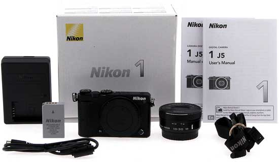 Jual Nikon 1 J5 Kit 10-30mm Black