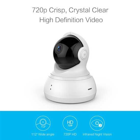 Jual Xiaomi Yi Dome Camera 720P