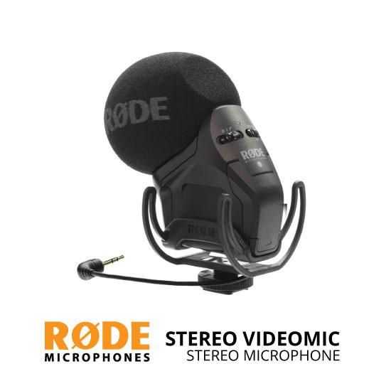jual RODE Stereo Videomic Pro Rycote