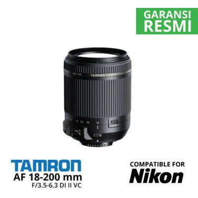 jual TAMRON-18-200MM-F-3.5-6.3-DI-II-VC-LENS-FOR-NIKON