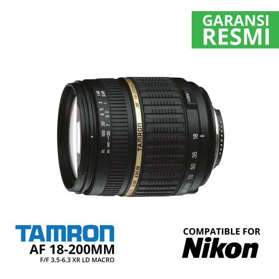 jual Tamron AF 18-200mm Di II F/3.5-6.3 XR LD Macro For Nikon