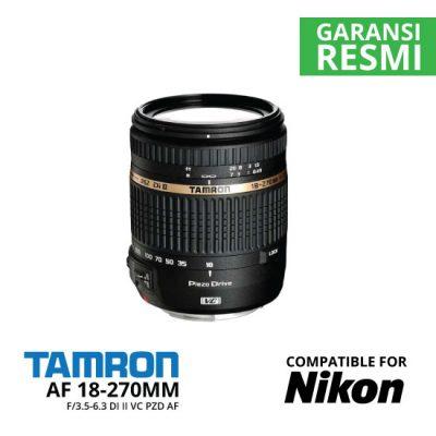 jual Tamron AF 18-270mm f/3.5-6.3 Di II VC PZD AF for Nikon