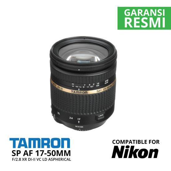 jual Tamron SP AF 17-50mm f/2.8 XR Di-II VC LD Aspherical (IF) for Nikon