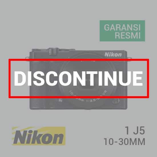 jual kamera Nikon 1 J5 Kit 10-30mm Black harga murah surabaya jakarta